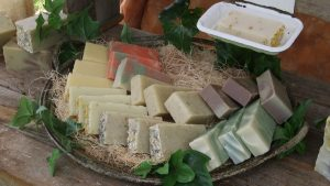natural soap by Splendid Bee made in Kentucky with beeswax and other natural and organic ingredients